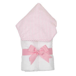 Personalized Pink Check Everykid Towel