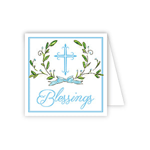 BLESSINGS BLUE CROSS WITH LAUREL