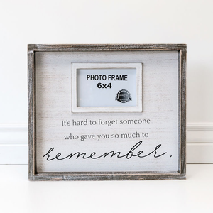 IT'S HARD TO FORGET SOMEONE - FRAME