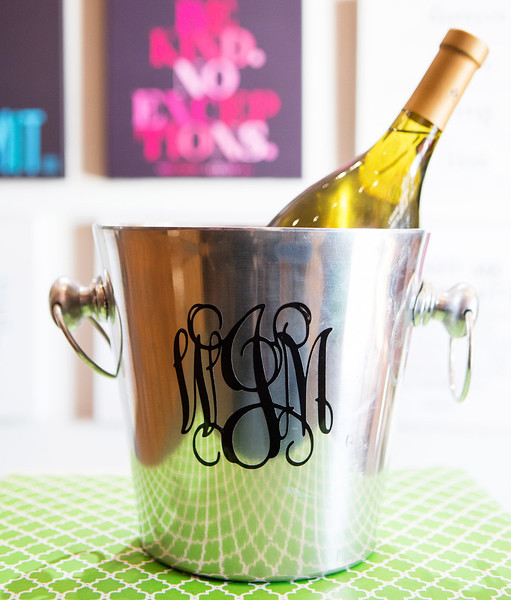 Personalized Champagne Bucket