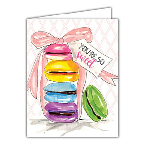 You're So Sweet Small Folded Greeting Card
