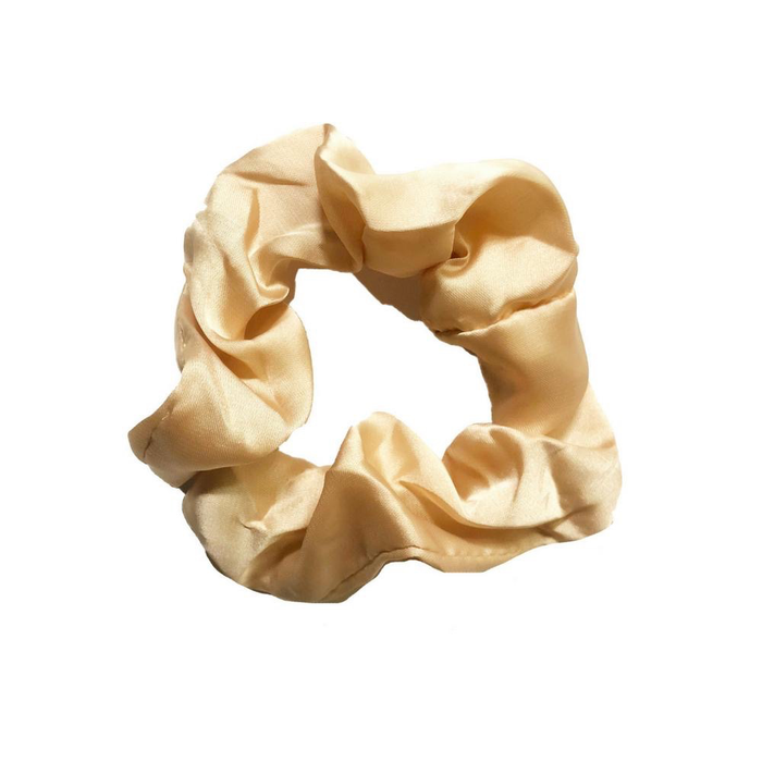 TAN SOLID SCRUNCHIE BY HEADBANDS OF HOPE