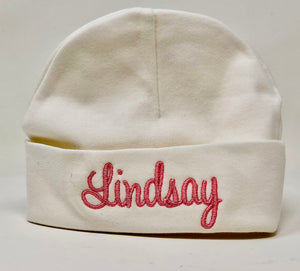 Personalized Baby Beanie Hat