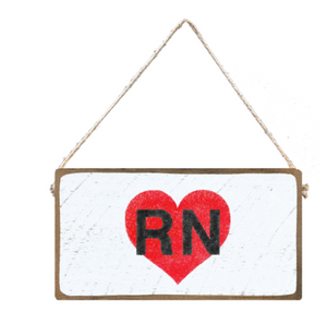 Rustic Mini Plank- RN Red Heart