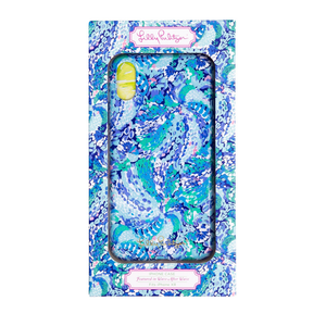 LILLY PULITZER IPHONE XR CASE, WAVE AFTER WAVE