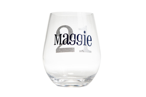 Personalized Acrylic Stemless Wine glasses