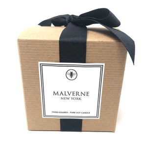 11oz Boxed Candle - Malverne, New York - Amber, Musk and Sage