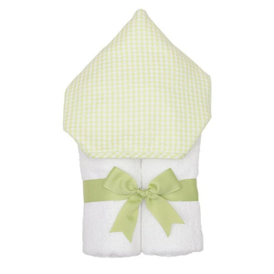 Personalized Green Check Everykid Towel