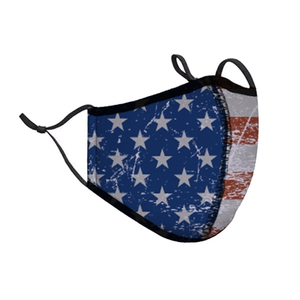 AMERICAN FLAG FACE MASK (8+)