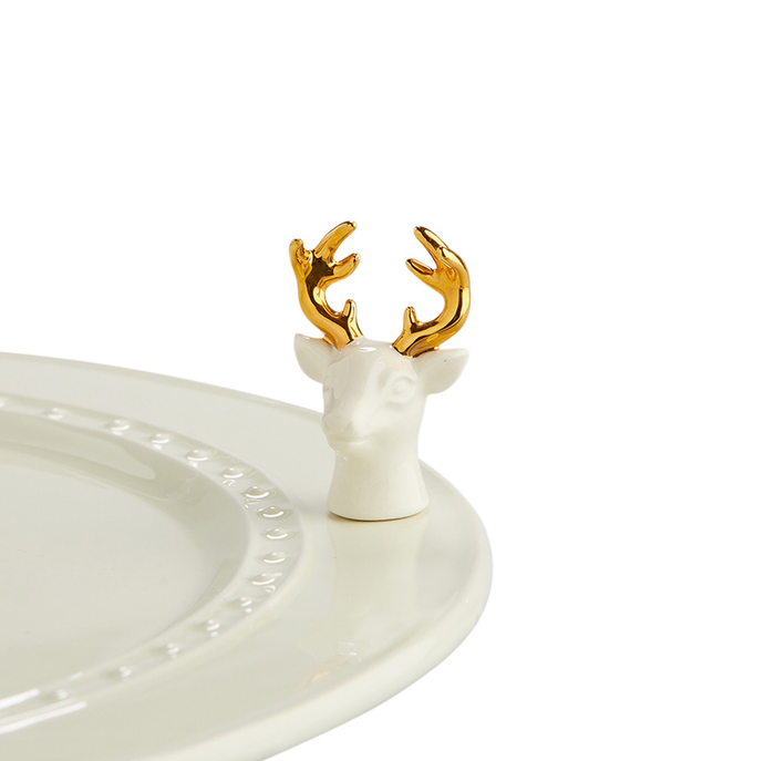 Nora Fleming Minis - White Deer