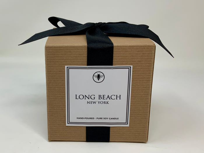11oz Boxed Candle - Oceanside, New York - Seamist and Jasmine