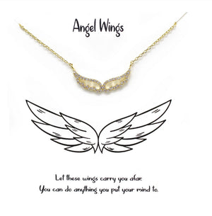 ANGEL WINGS TELL YOUR STORY