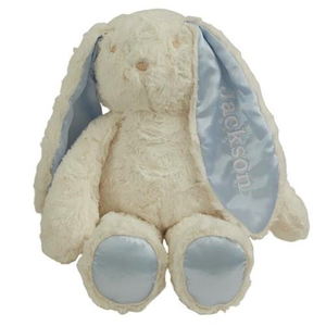 Personalized Blue Floppy Earred Bunny