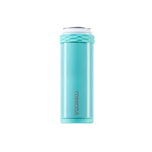 Corkcicle Slim Artican - 12OZ Gloss Turquoise