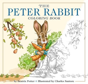 BOOK - PETER RABBIT COLORING BOOK