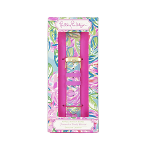 LILLY PULLITZER APPLE WATCH BAND - TOTALLY BLOSSOM