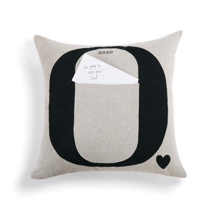 HUGS AND KISSES FROM HOME PILLOW