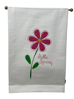Hello Spring Kitchen Towel