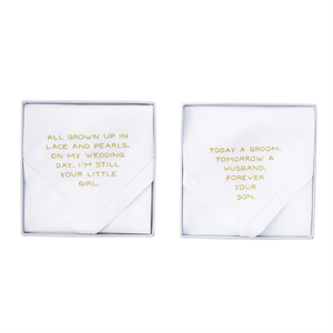 PARENTS HANDKERCHIEF - FOREVER SON