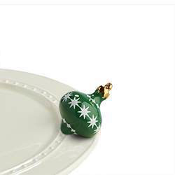 Nora Fleming Minis - Green Ornament