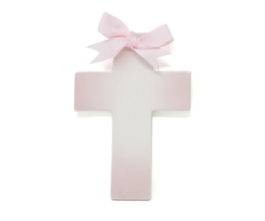 Personalized Ceramic Ombré Cross