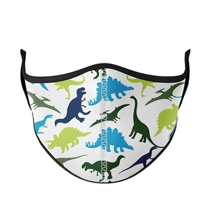 FACE MASK - DINO (AGES 3-7)