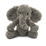 Squiggles Grey Elephant