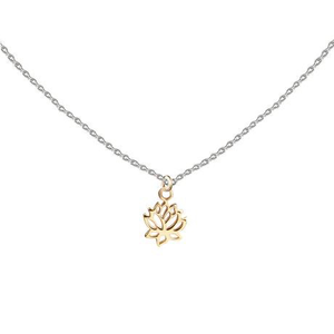 LOTUS LITTLE LAYER NECKLACE - GOLD