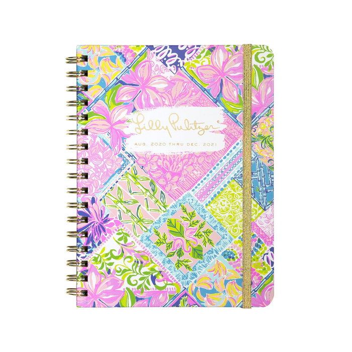 LILLY PULITZER MONTHLY PLANNER, BLOCK PARTY