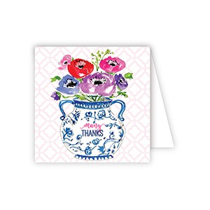 ENCLOSURE CARD - MANY THANKS FLORAL ARRANGEMENT