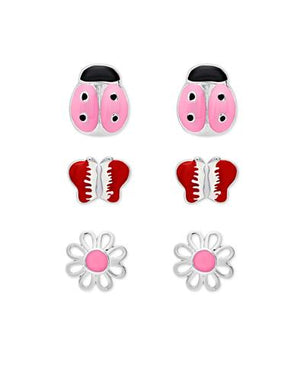 Earring Set - Lady Bug