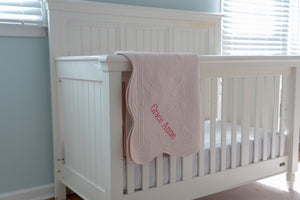 Personalized Heirloom Baby Quilt