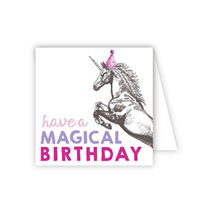 Enclosure Card-Have a Magical Birthday Unicorn