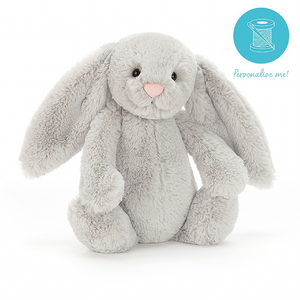BASHFUL GREY BUNNY - Medium