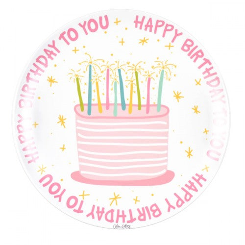 Birthday Girl Melamine Plate