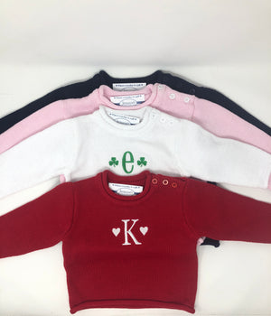 Personalized Roll Neck Sweater
