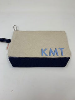 Personalized Canvas Makeup Case