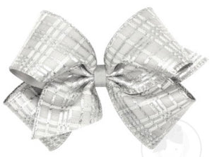 King Fancy Sparkle Overlay Bow