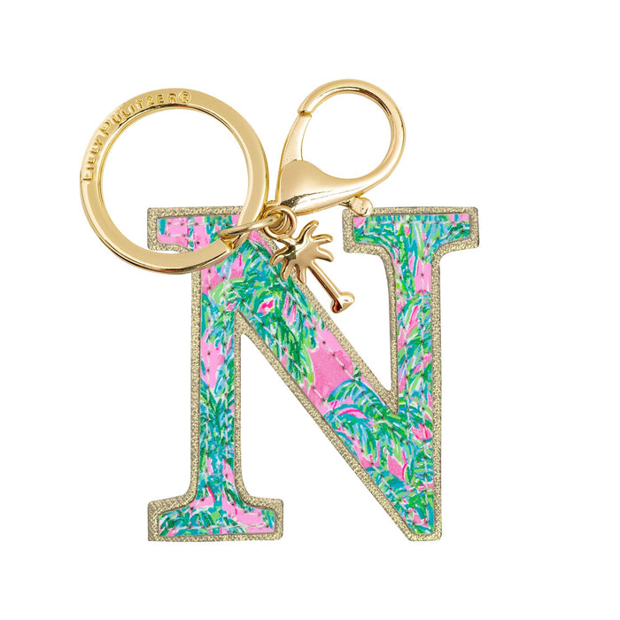 Initial Keychain by Lilly Pulitzer, N