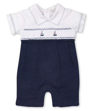 Hand Smocked  Playsuit