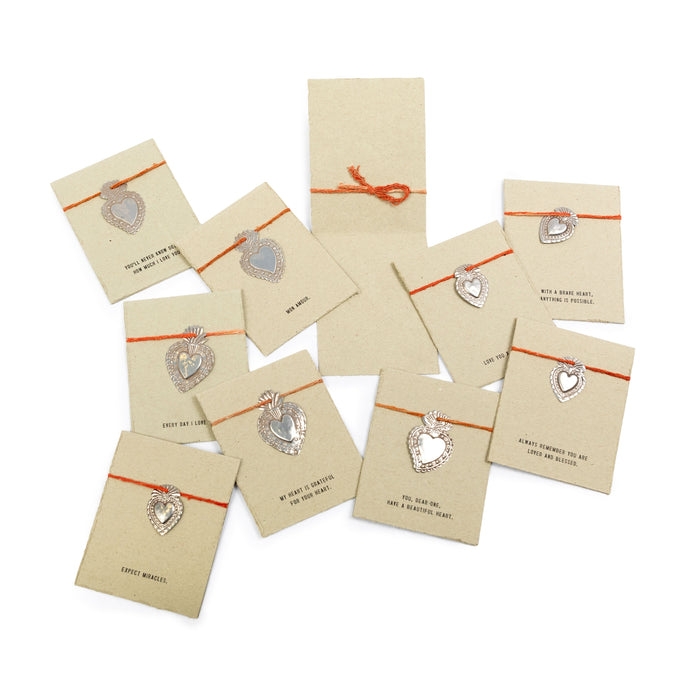 Milagro Heart Cards