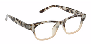 Peepers Reading Glasses - Layover - Gray/Tortoise/Pink