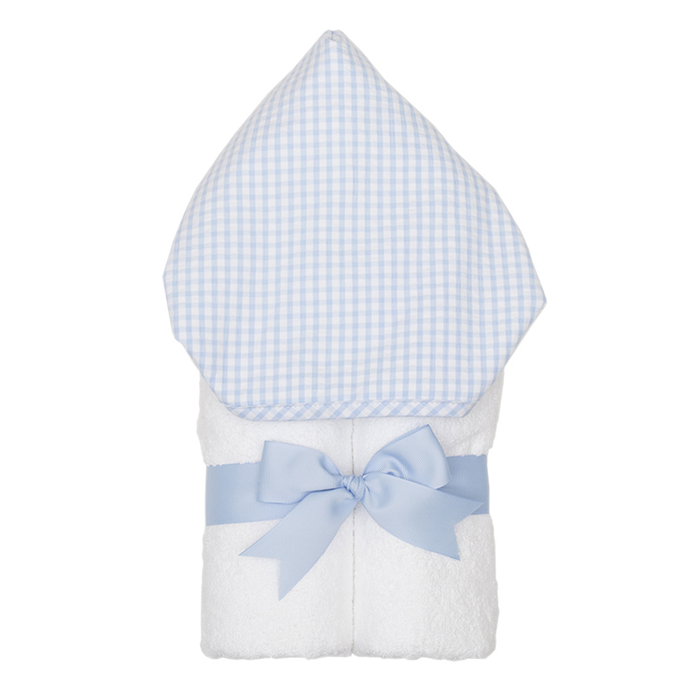 Personalized Blue Check Everykid Towel