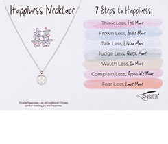 HAPPINESS NECKLACE SILVER