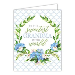 TO THE SWEETEST GRANDMA CARD