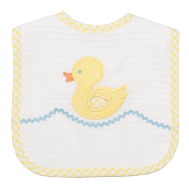 Yellow Duck  Bib