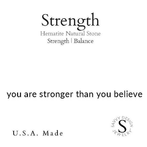 Intention Word - Strength