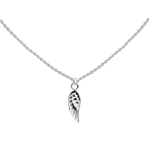 ANGEL WING LITTLE LAYER NECKLACE - SILVER