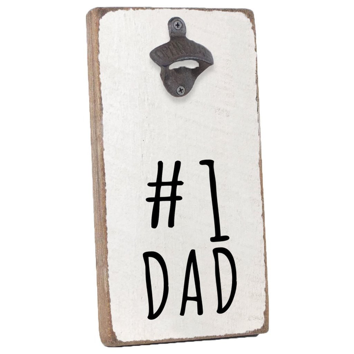 BOTTLE OPENER - #1 DAD