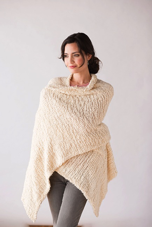 The Giving Shawl - Cream